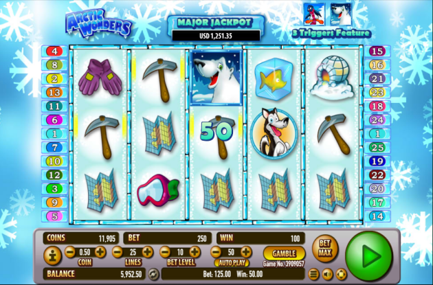 Arctic Wonders Slot - Play the Habanero Casino Game for Free